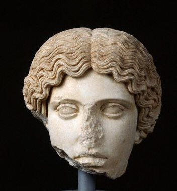 Roman Head of an Amazon