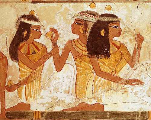 Wall Painting of Egyptian Concert Scene