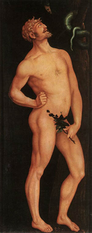 Hans Baldung Grien Adam and Eve