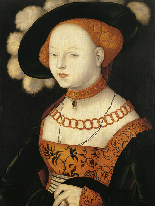 Hans Baldung Grien Portrait of a Woman