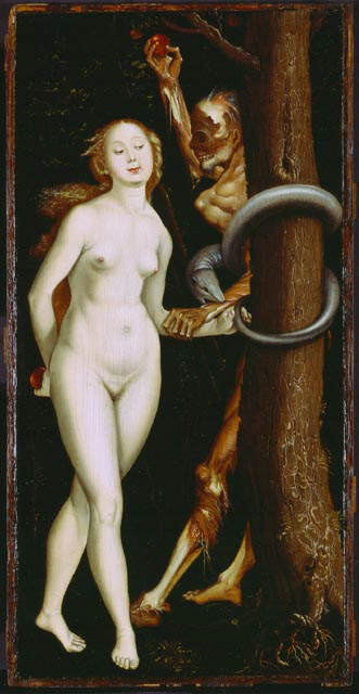 Hans Baldung Grien Eve, the Serpent, and Death