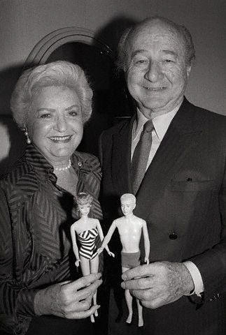 Ruth and Elliott Handler, the couple who introduced the Barbie doll in 1959