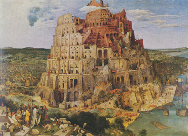 The Tower of Babel by Jan Brueghel the Elder 1563