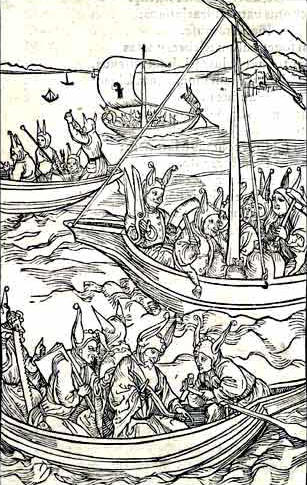 Albrecht Durer The Ship of Fools of Sebastian Brant