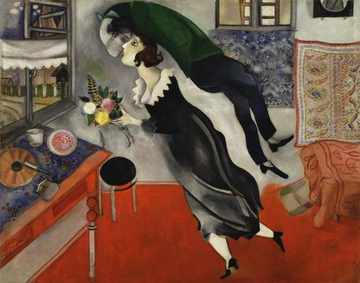 Marc Chagall Birthday Painting.