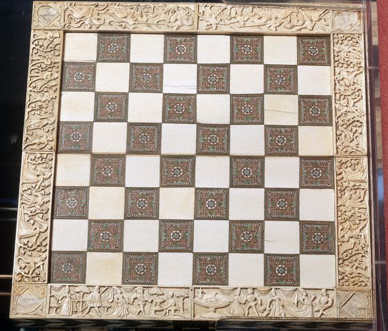 Italian Medieval Ornate Chess Board