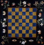 Chessboard With Flower Border by Giovanni Battista Sassi 1619