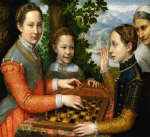 The Chess Game by Sofonisba Anguissola 1555