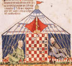 Spanish Medieval manuscript Book of Games by Alfonso X