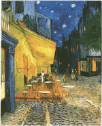 Vincent Van Gogh Cafe Terrace on the Place du Forum, Arles 1888