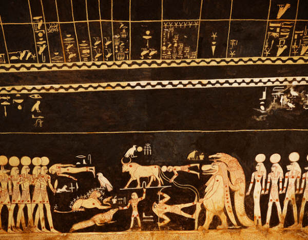 Astrological Scene from the Tomb of Seti I