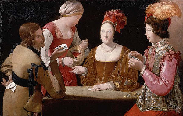 The Cheat With the Ace of Clubs by Georges de La Tour