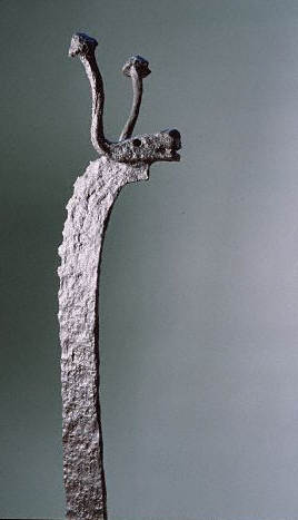 Celtic Wrought Iron Fire-Dog