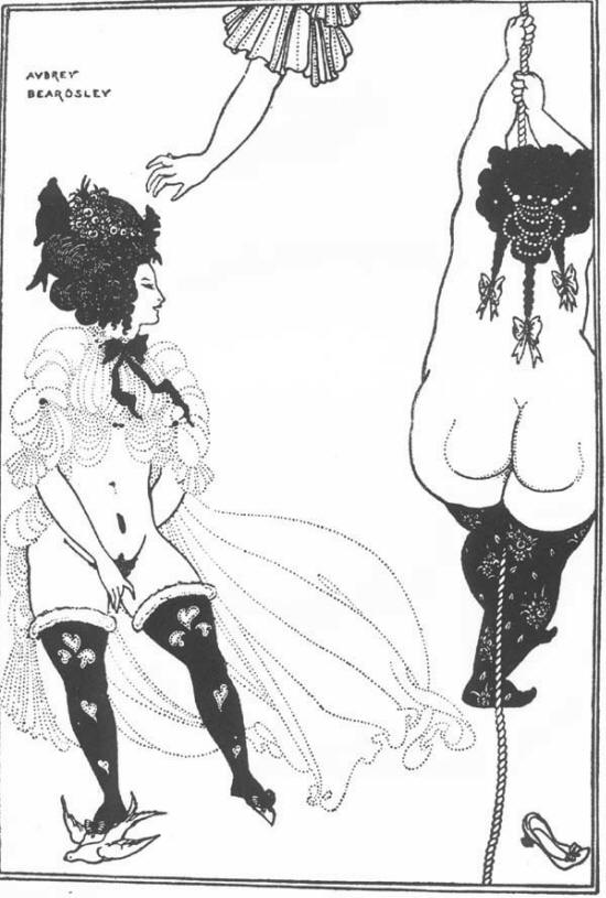 Athenians in Distress by Aubrey Beardsley