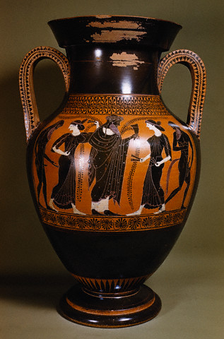 Attic Black-Figure Amphora attributed to the Rycroft Painterca