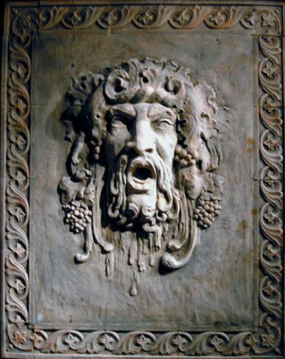 Bacchus-Dionysus large plaque