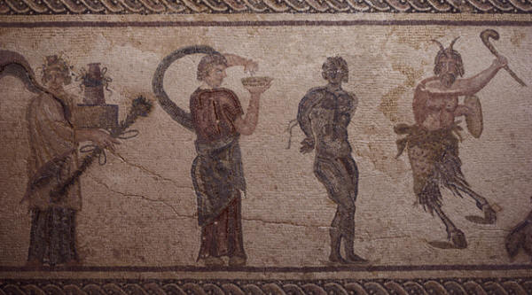 Roman Mosaic from the House of Dionysus in Paphos