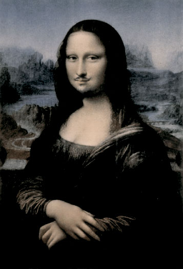 Mona Lisa scandal by Marcel Duchamp 1930
