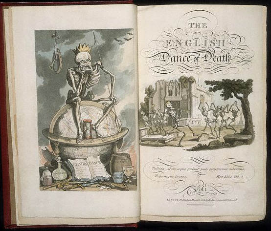 Title Pages for The English Dance of Death 1816