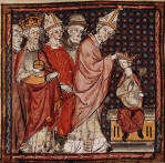 The Coronation of Louis I, Holy Roman Emperor