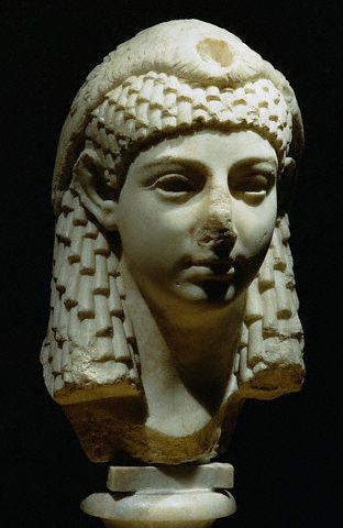 Sculpture Head of a Ptolemaic Queen ca. 1st century B.C.