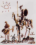 Don Quixote by Pablo Picasso, 1955