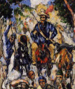 Don Quixote by Paul Cezanne