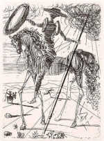 Don Quixote by Salvador Dali 1971