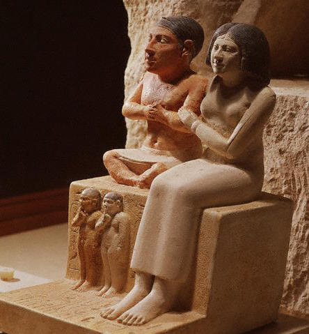 The Dwarf Seneb and His Family ca. 2500 B.C.