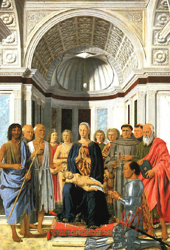 Madonna and Child with Saints by Piero della Francesca