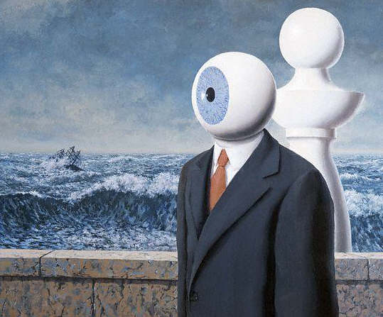 The Difficult Crossing by Rene Magritte 1963