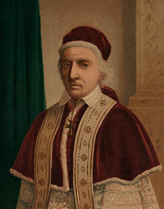 Pope Clement XII, who issued the first papal decree against the Freemasons in 1738