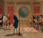 Illustration of a Freemasonry Initiation