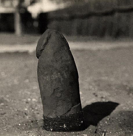 Australian Aboriginal Fertility Stone in the Shape of a Phallus