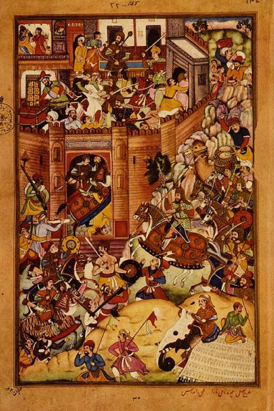Genghis Khan's capture of Tabriz