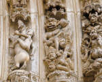 Archivolts with Demons from the Cathedral of Notre Dame