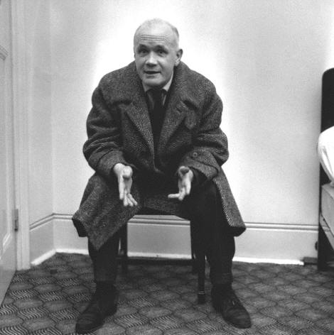Jean Genet (1910-1986) the French novelist and playwright, 1957
