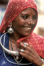 Pushkar gipsy girl