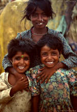 Pushkar gypsy kids