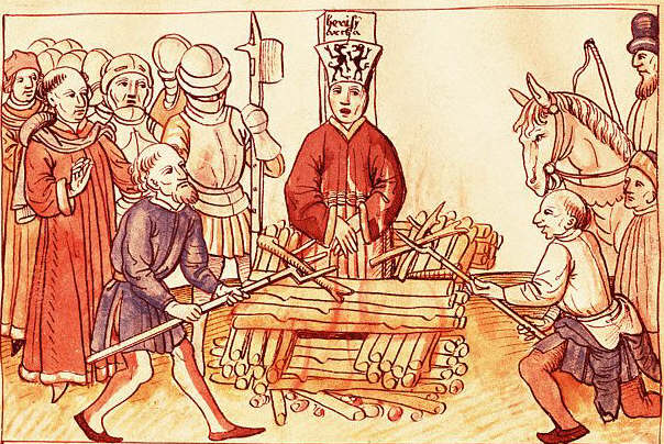 Jan Hus Burned at the Stake From The Chronicle of Ulrich of Reichental