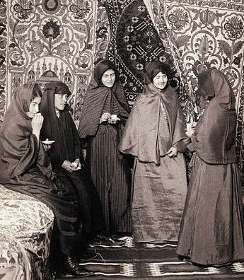 Five Woman in a Harem