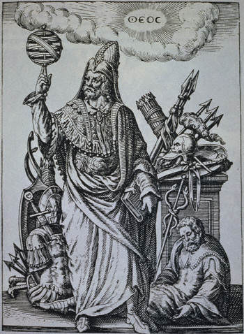 Hermes Trismegistus Book Illustration by Johann Theodor de Bry