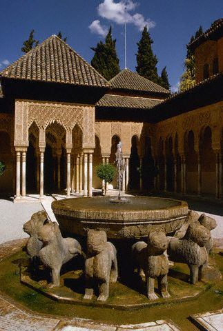 Court of Lions at Alhambra