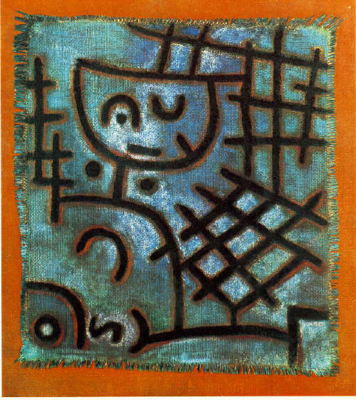 Captive by Paul Klee 1940