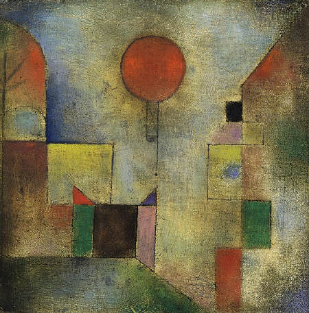 Red Balloon by Paul Klee, 1922