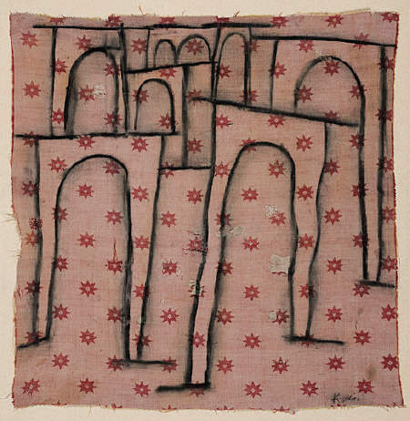 Arches of the Bridge Break Ranks by Paul Klee, 1937