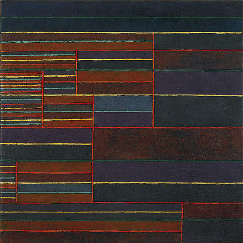 In the Current Six Thresholds by Paul Klee, 1929