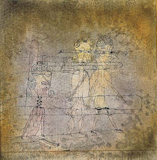 Tightrope Walker by Paul Klee, 1923