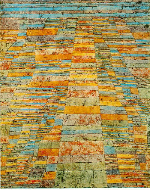 Highway and Byways  by Paul Klee 1929
