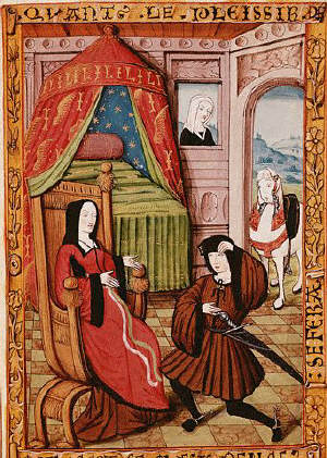 Knight Visiting His Lady 1475